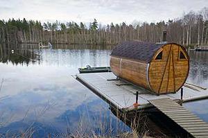 outdoor sauna die eigene heimsauna im garten saunafass. Black Bedroom Furniture Sets. Home Design Ideas