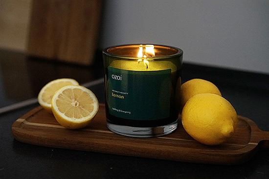 OZOI Aromatherapiekerze Lemon