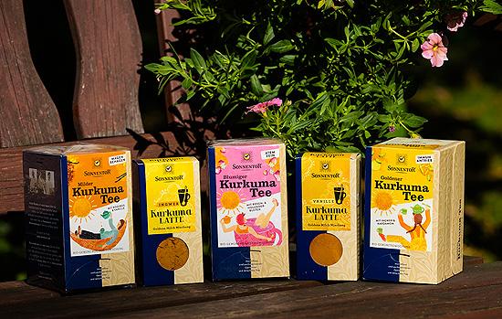 Kurkuma Das Naturliche Heilmittel Die Neuen Kurkuma Tees Von Sonnentor