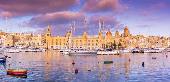 Hafen Valletta Tyrel