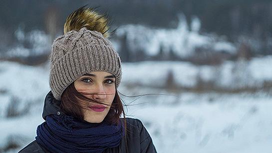 Haarpflege Winter